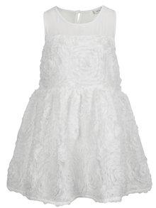 Bílé holčičí šaty name it Tutte