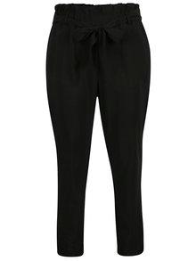 Čierne nohavice s opaskom VILA Elmine