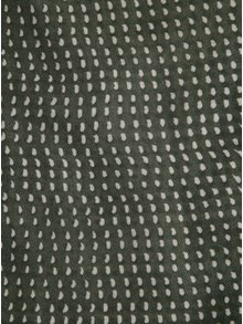 Tmavozelená vzorovaná šatka ZOOT