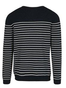 Tmavomodrý pruhovaný sveter ONLY & SONS Alex