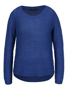 Modrý pletený sveter ONLY Geena