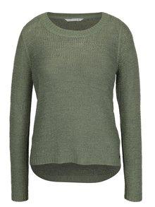 Zelený pletený sveter ONLY Geena