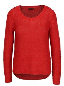 Červený pletený sveter ONLY Geena