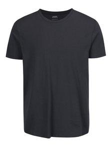 Tricou regular fit gri Burton Menswear London