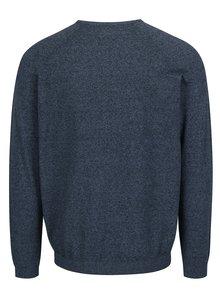 Modrý melírovaný sveter Burton Menswear London