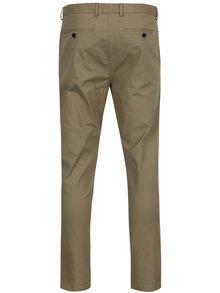 Béžové chino kalhoty Burton Menswear London
