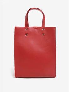 Geanta rosie cu design retro - Pieces Naomi Olla