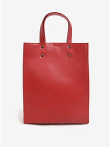 Červená kabelka do ruky Pieces Naomi Olla