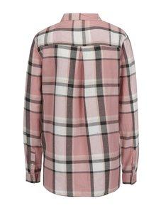 Růžovo-šedá kostkovaná košile Haily´s Paula