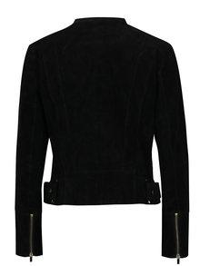 Čierna semišová bunda VILA Miss Suede