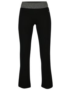 Čierne dámske regular fit tepláky s logom M&Co