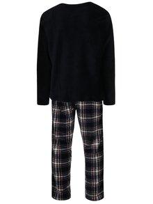 Tmavomodré pánske pyžamo M&Co