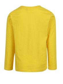 Žlté chlapčenské tričko s meniacimi sa flitrami Lego Wear Thomas