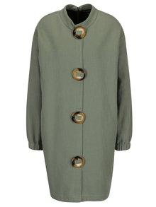 Světle zelené šaty s výraznými knoflíky Framboise Ronde