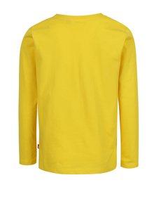 Žlté chlapčenské tričko s dlhým rukávom Lego Wear Thomas
