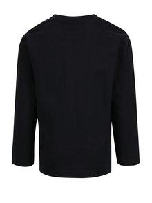 Čierne chlapčenské tričko s dlhým rukávom Lego Wear