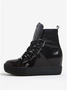 Čierne členkové topánky Fornarina Meti