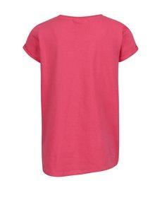 Růžové holčičí tričko s krátkým rukávem Lego Wear Tanya