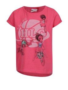 Ružové dievčenské tričko s krátkym rukávom Lego Wear Tanya