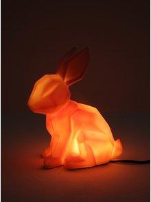 Ružová lampa v tvare králika Disaster