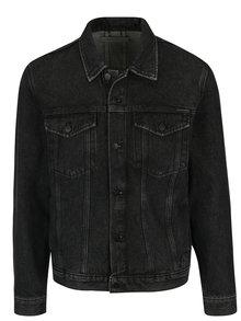 Tmavě šedá pánská džínová bunda Calvin Klein Jeans Stark