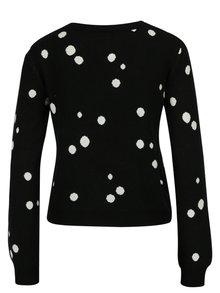 Čierny crop sveter Miss Selfridge