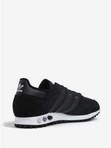 Černé pánské tenisky se strukturovanou podrážkou adidas Originals La Trainer OG