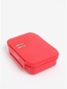 Červený box na jedlo Mustard