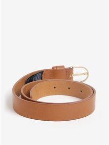 Světle hnědý dámský kožený pásek Tommy Hilfiger