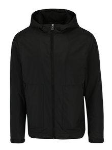 Čierna pánska bunda s kapucňou Calvin Klein Jeans Ondo