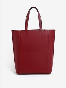Vínový shopper Calvin Klein Jeans Metropolitan