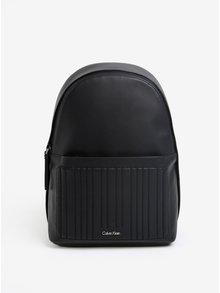 Čierny dámsky batoh s prešívanými detailmi Calvin Klein Jeans Michelle