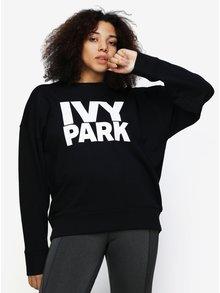 Černá oversize mikina s potiskem Ivy Park