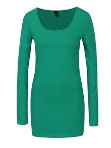 Zelené tričko s dlhým rukávom VERO MODA Maxi My