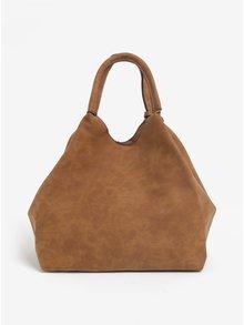 Hnedá melírovaná kabelka do ruky Dorothy Perkins