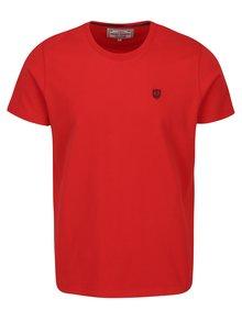 Červené pánské tričko s krátkým rukávem Jimmy Sanders