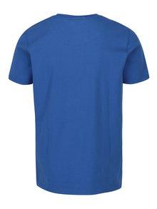 Modré pánske tričko s krátkym rukávom Jimmy Sanders