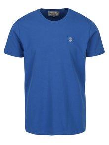 Modré pánské tričko s krátkým rukávem Jimmy Sanders