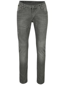 Šedé pánské džíny s potrhaným efektem Jimmy Sanders