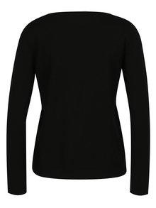 Čierny dámsky tenký sveter Jimmy Sanders