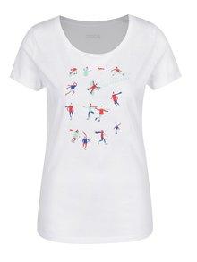 Biele dámske tričko ZOOT Original Sánkari