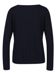 Tmavomodrý dámsky tenký sveter Jimmy Sanders