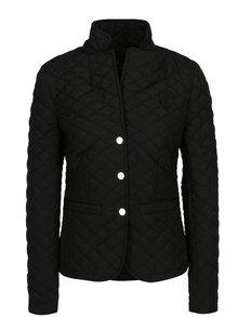 Černá dámská lehká prošívaná bunda s knoflíky Jimmy Sanders