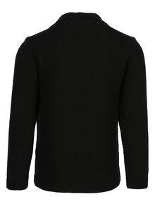 Cardigan tricotat negru pentru barbati - Jimmy Sanders