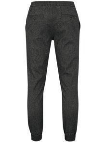 Tmavosivé melírované pánske nohavice Tommy Hilfiger Active