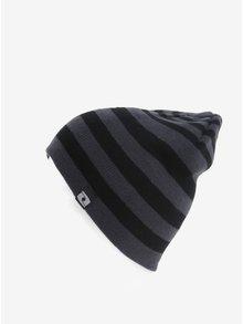 Černá dámská pruhovaná čepice LOAP Zolle