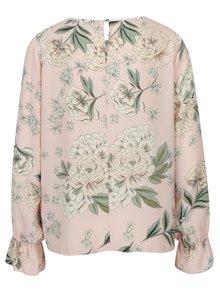 Světle růžová květovaná halenka Dorothy Perkins