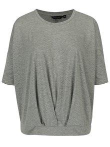 Sivé melírované voľné tričko Dorothy Perkins Curve