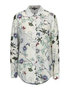 Krémová dámska kvetovaná blúzka Tommy Hilfiger