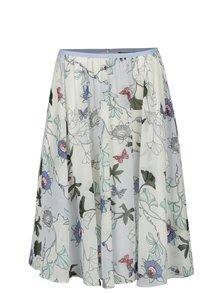 Krémová kvetovaná sukňa Tommy Hilfiger